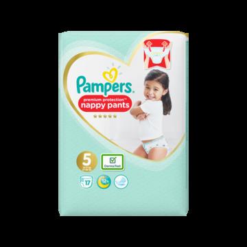Pampers Premium Protection Pants S5, 17 Luierbroekjes, Zacht