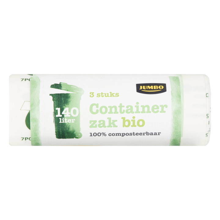 Zack Pedaalemmer 3 Liter.Jumbo Containerzak Bio 140 L 3 Stuks Vuilniszakken
