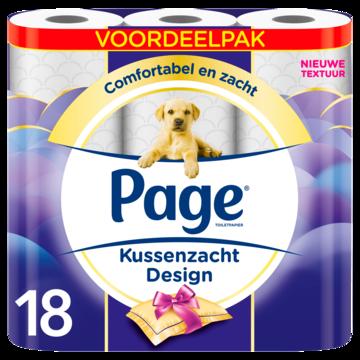 Page Toiletpapier Kussenzacht Design Voordeelpak 18 Luxe Rollen Productfoto  180x180